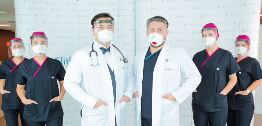 Dr. Balwi and his team are fully prepared during the Corona pandemic