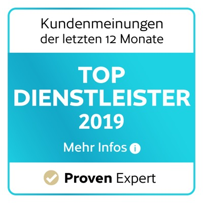 Provenexpert Logo für die Kundenbewertungen von Elithairtransplant