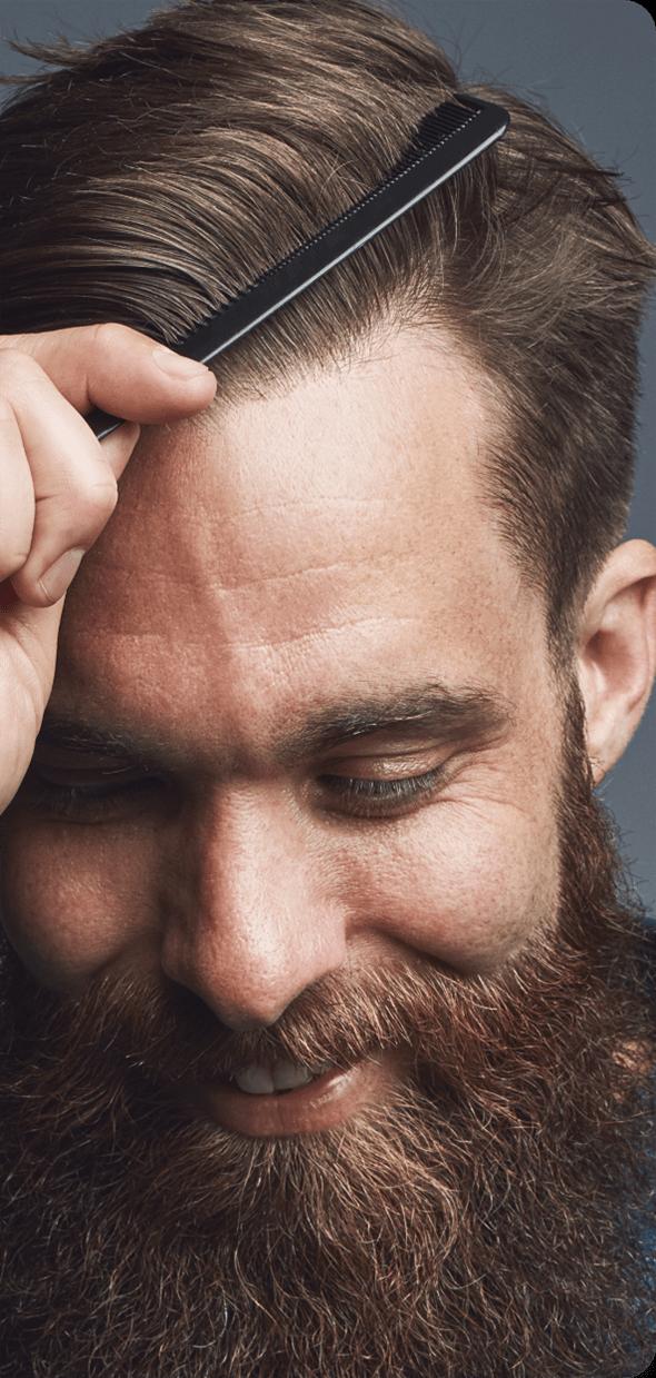 Barba e capelli folti