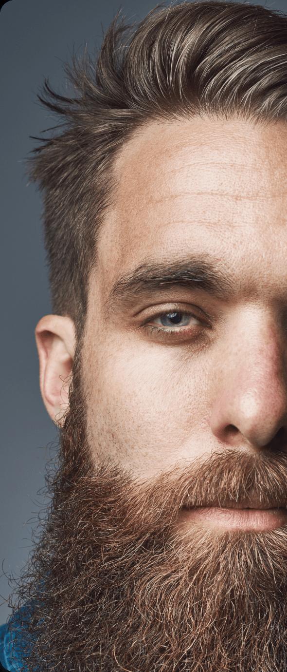 Barba folta e curata