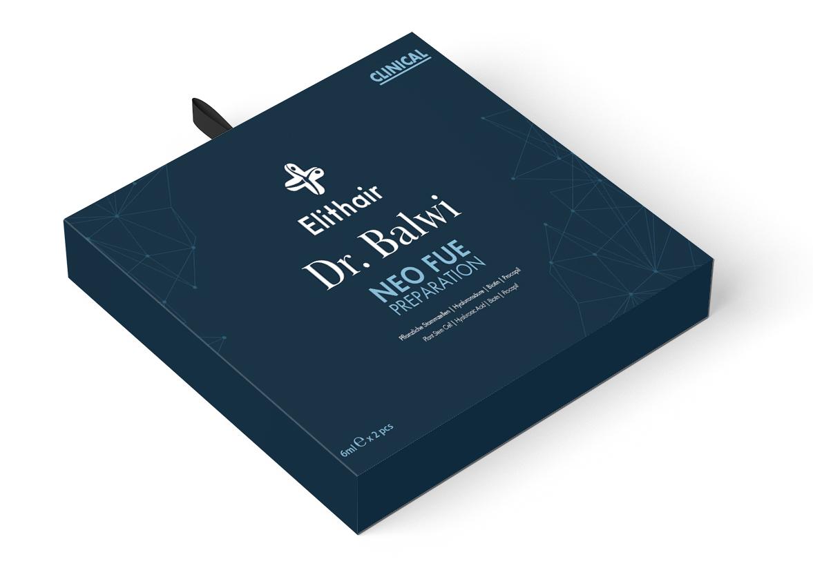 Kit NEO FUE del Dr. Balwi desarrollado por el laboratorio de Elithair.