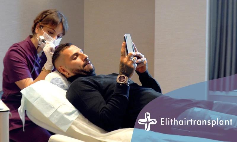 Ricardo Quaresma macht Haarpigmentierung bei Elithairtransplant