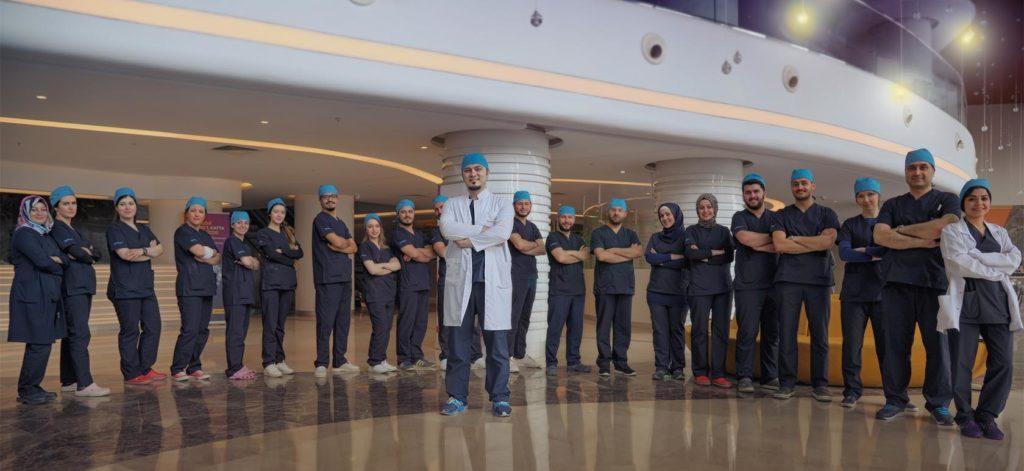 Dr Balwi et son équipe