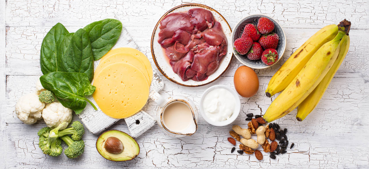 de nombreux aliments contiennent de la biotine