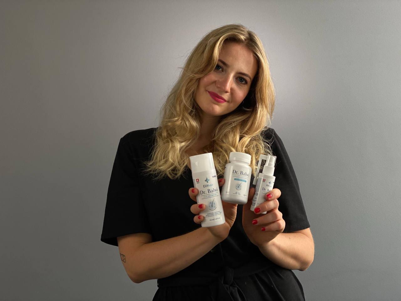 Les produits du Dr. Balwi peuvent accélérer la repousse après une perte de cheveux liée à l'alcool
