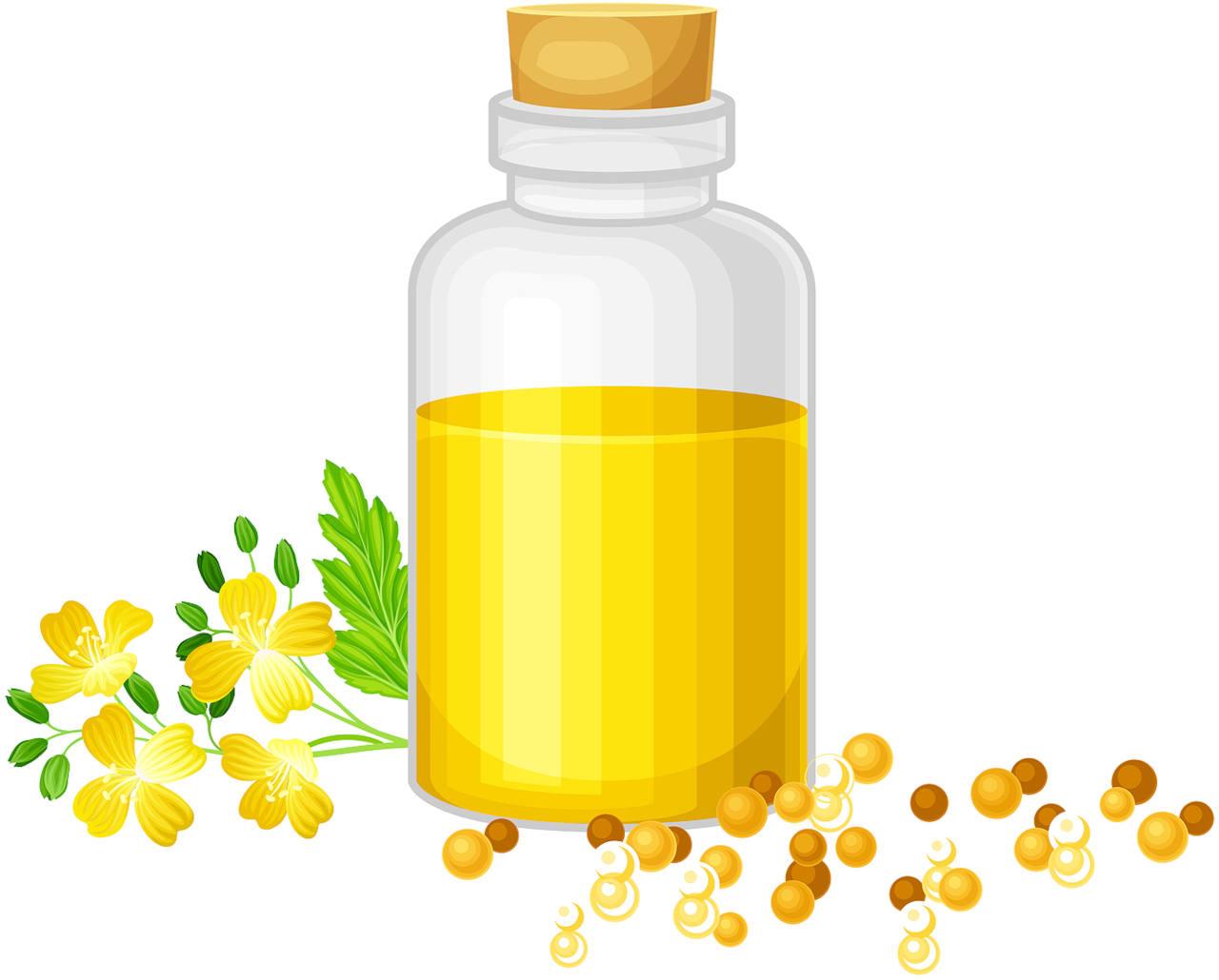 l'huile de moutarde est-elle bénéfique pour les cheveux