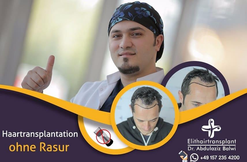 Haartransplantation ohne Rasur - Dr. Balwi Elithairtransplant
