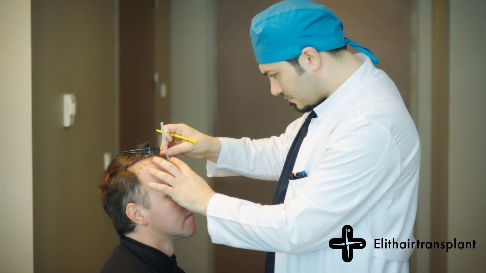 Haartransplantation Haarlinie