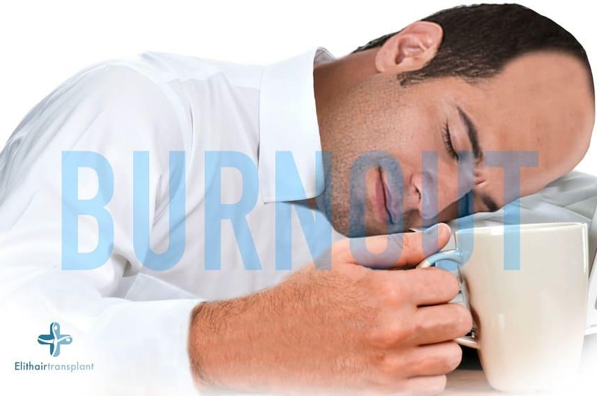 Haarausfall bei Burnout