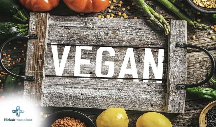 Haarausfall bei veganen Ernährung
