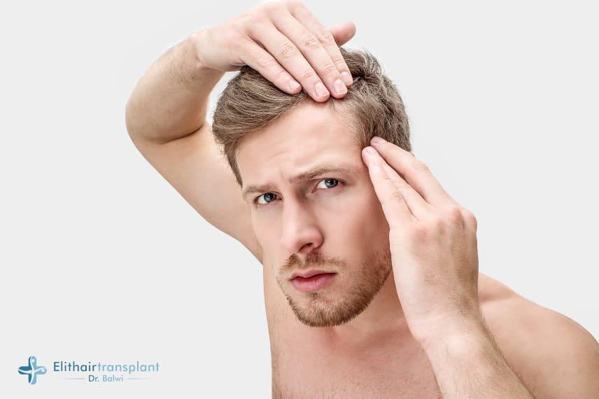Ell-Cranell gegen Haarausfall - Geheimratsecken