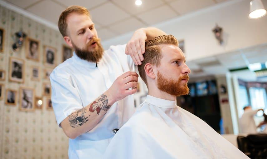 Männer geheimratsecken frisuren für Frisuren mit