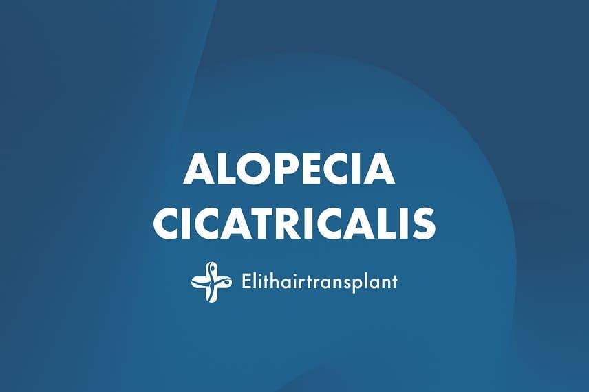 Alopecia cicatricalis