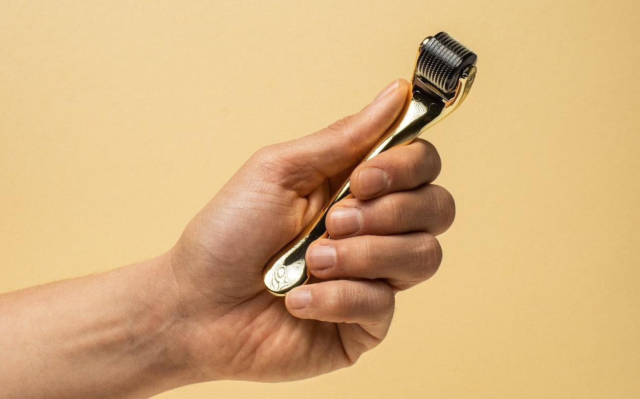 Darmaroller bei Haarausfall