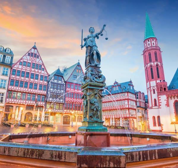 Innenstadt nähe Praxis für Haartransplantation in Frankfurt