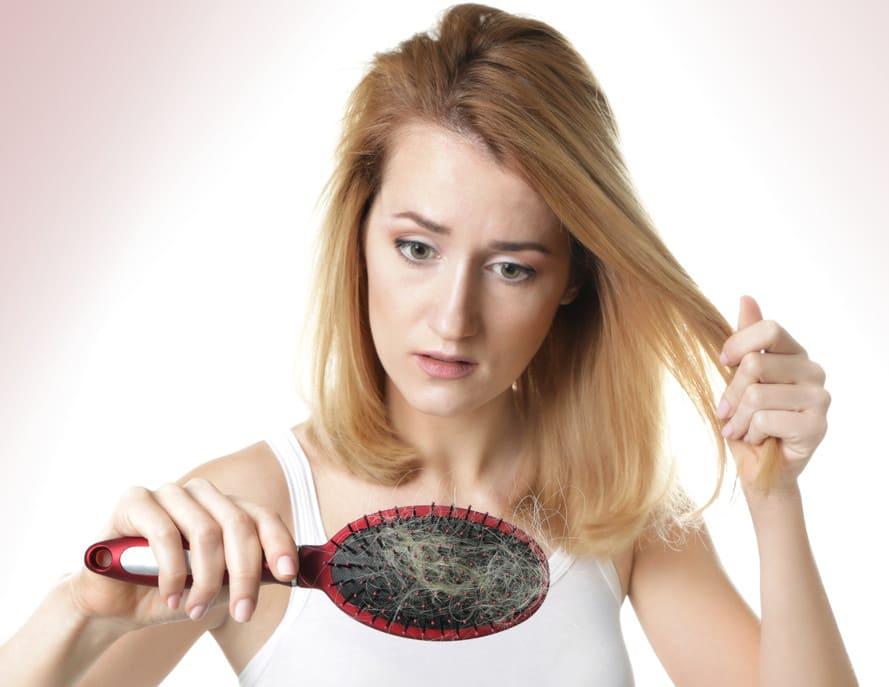Arten von Haarausfall