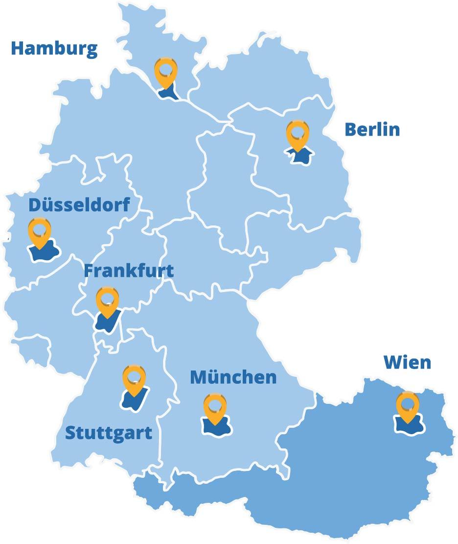 Der Elithair Standort Wien in der DACH-Region