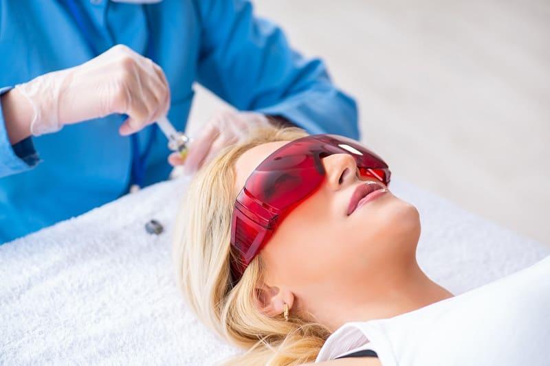 Ablauf der Mesotherapie gegen Haarausfall