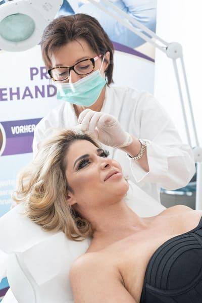 Der große Vorteil einer PRP-Behandlung - Micaela Schäfer