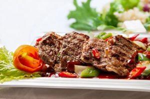 Fleisch Nahrungsmittel gegen Haarausfall