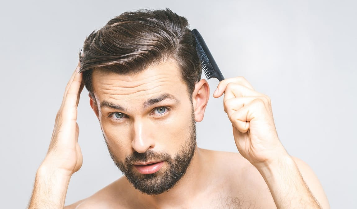 kräftiges und gesund glänzendes Haar
