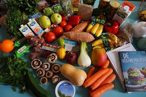 Obst und Gemüse Haare schneller wachsen