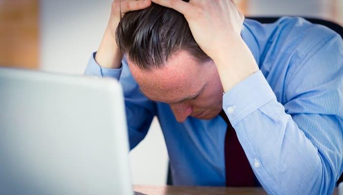 Spannungshaarausfall Form des Haarvelust