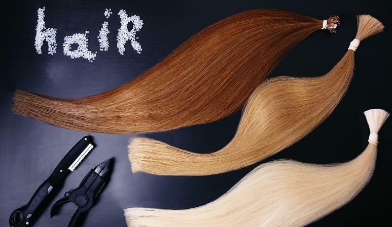 Arten von Haaransatz - Kunsthaar