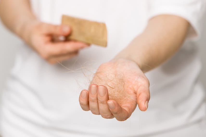 Phasenweise Haarausfall