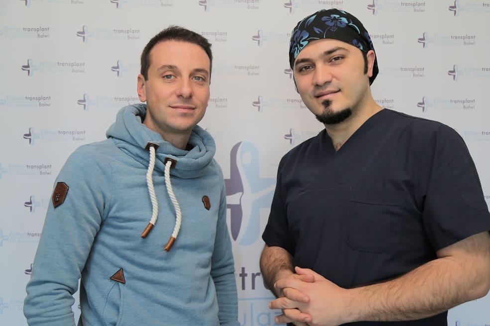 Martin Rau und Dr. Balwi