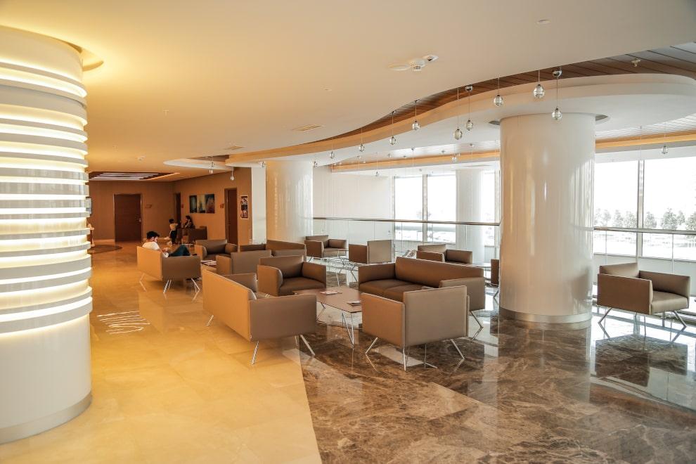 Lobby des Krankenhauses in Istanbul