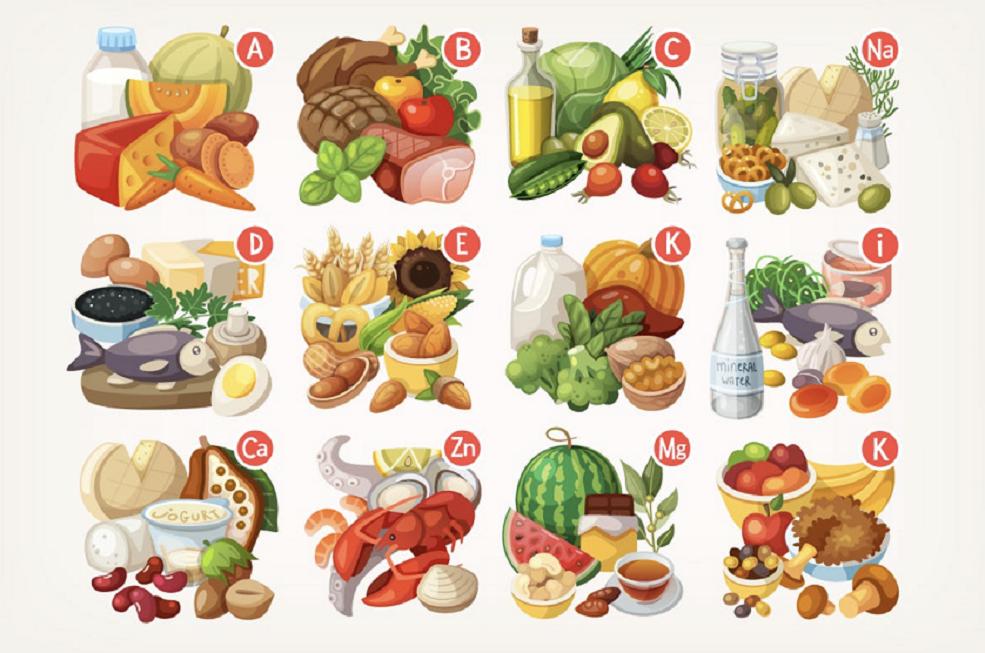 alimenti per_rinforzare i capelli infografica