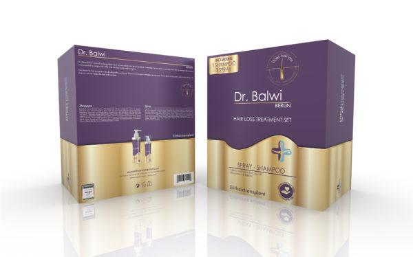 lo shampoo alla caffeina del Dott.Balwi