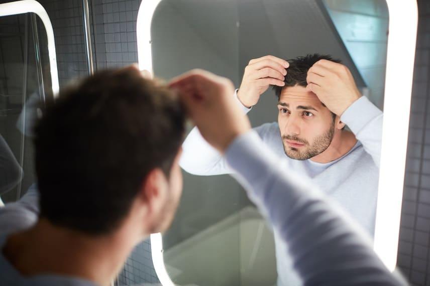 caída del pelo excesiva