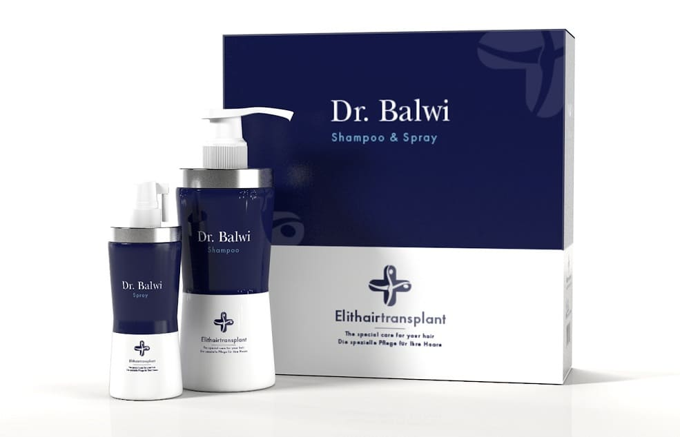 Set Dr. Balwi: spray y champú anticaída
