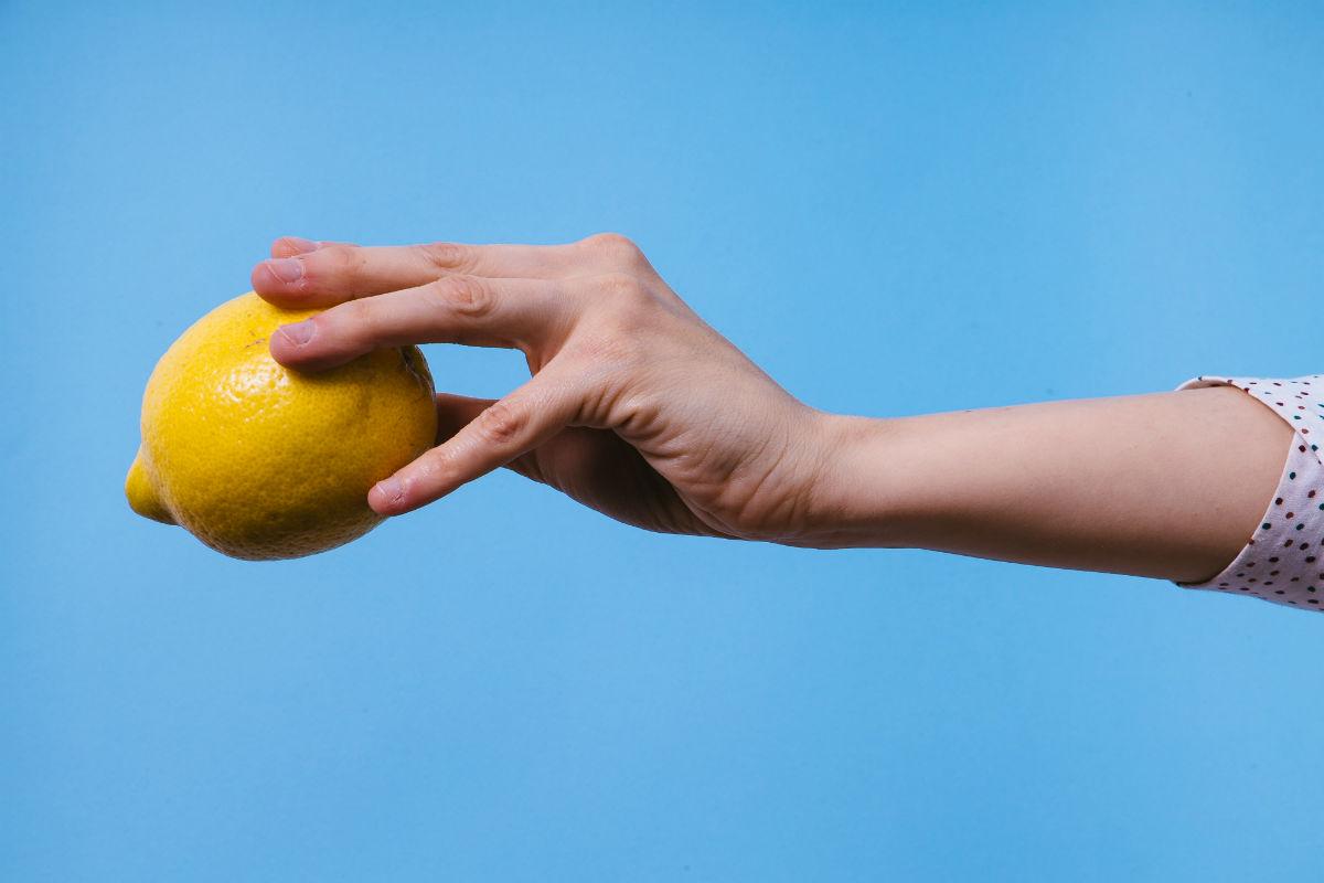 Limón para el pelo