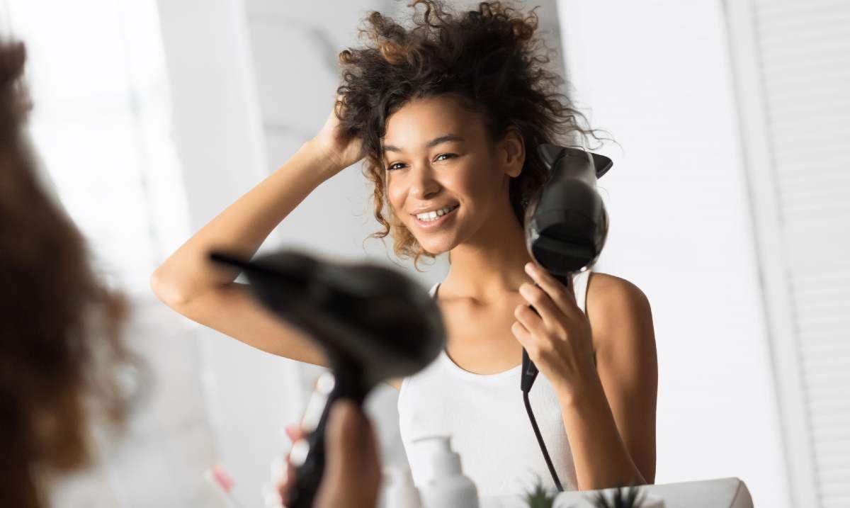 Cuidado del cabello seco