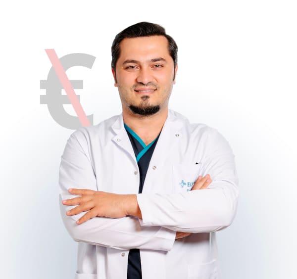 El kit de preparación para el injerto capilar neo fue se incluye para todos los pacientes del dr balwi