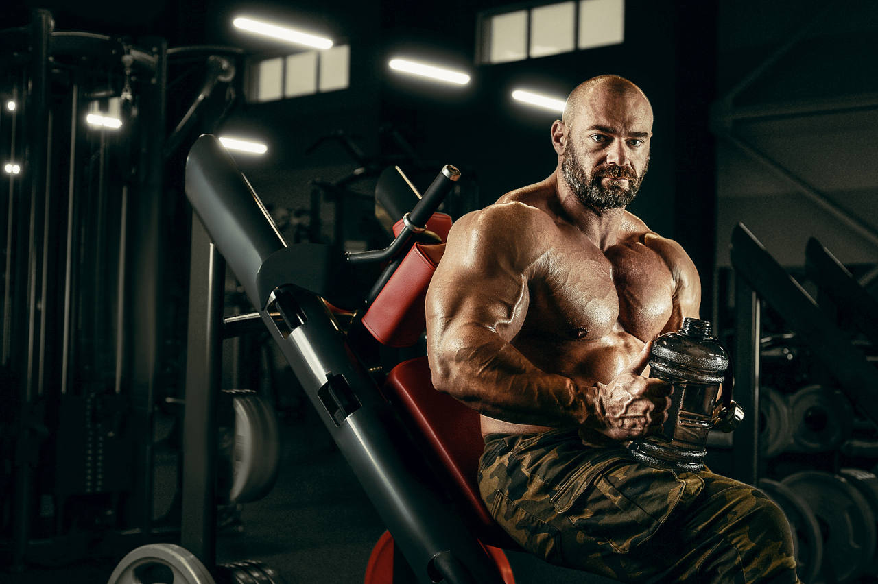 bodybuilders can go bald because of an excessive buildup of the DHT hormone