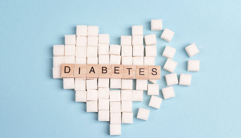 Hair loss in diabetes patients is a common symptom