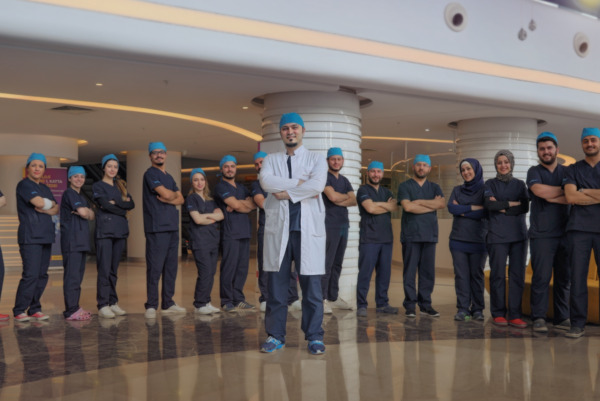 Dr Balwi and his team of hair transplant specialists