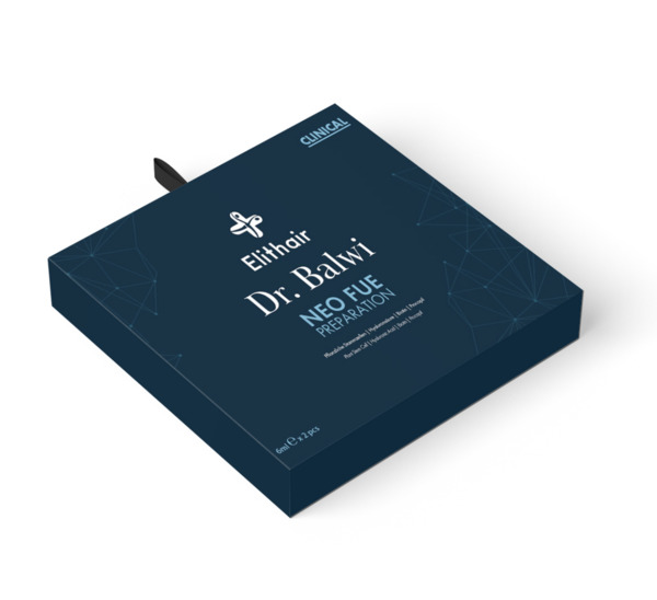 The exclusive NEO FUE preparation package designed by Dr Balwi