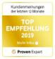 Top service provider award
