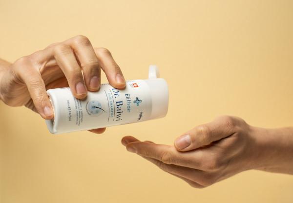 The Dr Balwi hair loss shampoo from Elithair